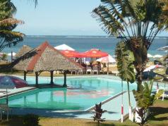 La piscine du manda beach hotel