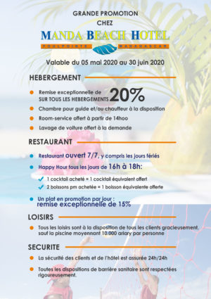 Manda Beach Grande promotion